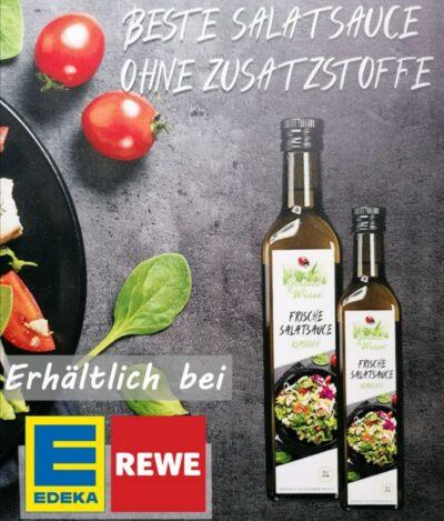 12 Flaschen a 250ml Salatsauce Grüne Wiese  100 % Vegan