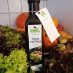 1Flasche a 250ml Salatsauce Grüne Wiese  100 % Vegan